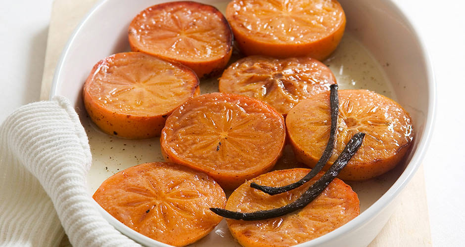 Honey-Baked-Persimmons