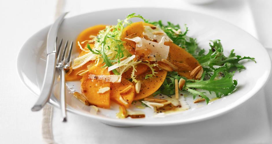 Italian-Persimmon-Salad