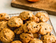 Chewy Persimmon & Ginger Cookies