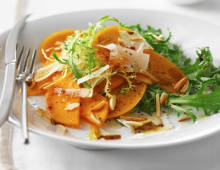 Italian Persimmon Salad