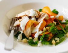 Persimmon & Herb Chicken Salad