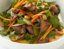 Persimmon Thai Beef Salad